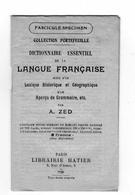 COLLECTION PORTEFEUILLE Dictionnaire Essentiel De La Langue Française - Dictionaries