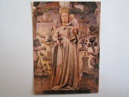 10 Aube église Ervy Le Chatel La Vierge Et L'enfant - Ervy-le-Chatel