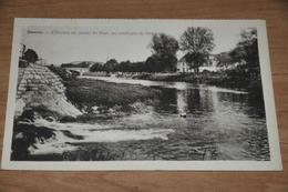 647- Hamoir, L'Ourthe En Amont Du Pont, Au Confluent Du Neblon - Hamoir