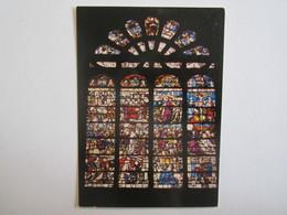 10 Aube église Ervy Le Chatel Vitrail Du XVI La Passion - Ervy-le-Chatel