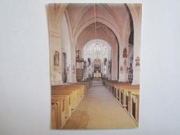 10 Aube église Ervy Le Chatel La Nef - Ervy-le-Chatel
