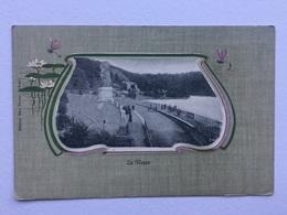 LA GILEPPE «Panorama Fantaisie  Entourer D'un Décor Nénuphars Et Libellules «1900 Édit Max Victor (O.R.G.M 1000-1006). - Jalhay