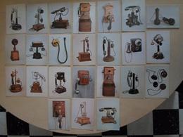 LOT DE 24 CP DE TELEPHONES ANCIENS - Industrie