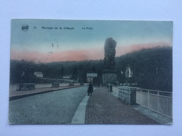 BARRAGE DE LA GILEPPE «Le Pont «Animée,colorisée (1922) LEGIA Nº 22. - Jalhay