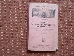 Sciences Physiques Et Naturelles Par Touraine1932  (O) - 6-12 Ans
