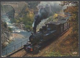 Chemin De Fer Du Vivarais - Le Train Dans La Vallée Du Doux - Voir 2 Scans - Unclassified