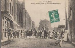 Ste-sigolène - Place De L'église Et Rue Des Pénitents - Altri Comuni