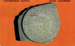 B 1868 - Mexique       Calendrier Azteque     Calendario Azteca     Aztec Calendar - Mexico