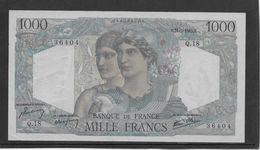 France 1000 Francs Minerve Et Hercule - 31-5-1945 - Fayette N°41-3 - SPL - 1871-1952 Antichi Franchi Circolanti Nel XX Secolo