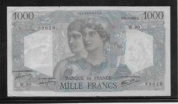 France 1000 Francs Minerve Et Hercule - 12-7-1945 - Fayette N°41-6 - TTB - 1871-1952 Circulated During XXth