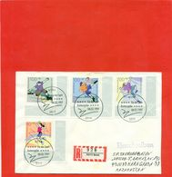 """Germany 1997.Envelope Passed The Mail. FDC """"Fur Den Sport"""". - [7] Federal Republic"""