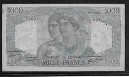 France 1000 Francs Minerve Et Hercule - 11-7-1946 - Fayette N°41-15 - TTB - 1871-1952 Circulated During XXth