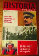 Livre Revue Historia Hors Série 5 Septembre 1967 - History