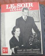 LE SOIR ILLUSTRE N° 916 Du 12 Janvier 1950 La Princesse Yolande De Ligne Et L'ARchiduc Charles De Habsbourg-Lorraine - Books, Magazines, Comics