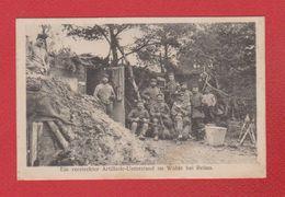 Reims  -  Versteckter Artillerie Unterstand Im Walde Bei Reims-  3 Garde Div Inf - 4/1916 - Reims