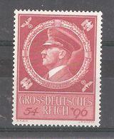 Allemagne / Deutsches Reich 1944 , Yvert N° 804, 55 E Anniversaire D' HITLER  Neuf ** / MNH ,TB - Nuevos