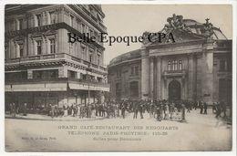 75 - PARIS 01 - Grand Café-Restaurant Des Négociants - Salles Pour Réunions / Bourse Du Commerce +++ ELD / E. Le Deley - Arrondissement: 01