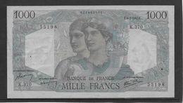 France 1000 Francs Minerve Et Hercule - 9-1-1947 - Fayette N°41-18 - SUP - 1871-1952 Antichi Franchi Circolanti Nel XX Secolo