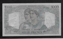 France 1000 Francs Minerve Et Hercule - 9-1-1947 - Fayette N°41-18 - TTB - 1871-1952 Anciens Francs Circulés Au XXème