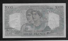 France 1000 Francs Minerve Et Hercule - 9-1-1947 - Fayette N°41-18 - TTB - 1871-1952 Antichi Franchi Circolanti Nel XX Secolo
