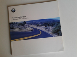 Dep018 Depliant Advertising Storia Marchio BMW Sport Aereoplano Plane Motore Engine Design Auto Car Voiture - Automobili