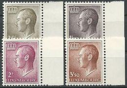 LUXEMBURG 1966 Mi-Nr. 725/28 ** MNH - Unused Stamps