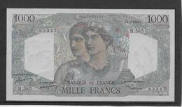 France 1000 Francs Minerve Et Hercule - 1-9-1949 - Fayette N°41-28 - SUP - 1871-1952 Antichi Franchi Circolanti Nel XX Secolo