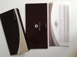 Dep018 Depliant Advertising Poster Lancia Musa Motore Engine Design Auto Car Voiture - Automobili