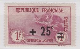 FRANCE   YT N° 168 * - Neufs