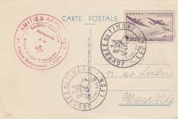 OBLIT. JOURNEE DU TIMBRE 1942  LYON - Commemorative Postmarks