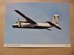 BAF / BRITISH AIR FERRY  DART HERALD   G ASVO - 1946-....: Moderne