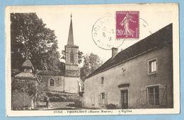 1167  CPA   TRONCHOY   (Haute-Marne)  L'église  +++++++++++++++++++ - Frankrijk