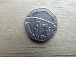 Grande Bretagne  20  Pence  2013  Km !!! - 1971-… : Monnaies Décimales