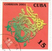 Cuba 2001 - Yt 3917 Used - Cuba