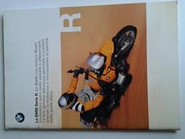Dep023 Depliant Advertising Moto BMW Motorrad Serie R Dakar Motore Engine Design Sport - Automobili