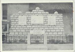 55) ESNES-en-ARGONNES (Cote 304 - Verdun) : Monument Aux Mort (restauré 1982) - France
