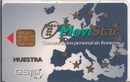 TARJETA GSM MOVISTAR MUESTRA RARE - Espagne