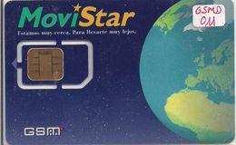 TARJETA GSM MOVISTAR DUAL 011 RARE - Espagne