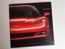 Dep025 Depliant Advertising Chevrolet Corvette Auto Car Motore Sport Engine Racing - Automobili