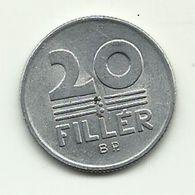 1981 - Ungheria 20 Filler, - Hongrie