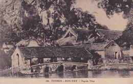 TONKIN  / SONTAY / PAGODE THAY - Vietnam