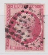 FRANCE   YT N° 17B OBLITERE - 1863-1870 Napoléon III Lauré