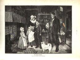 Der Junge Seemann (nach Einem Gemälde Von C. Kirberg) / Druck, Entnommen Aus Zeitschrift /1910 - Livres, BD, Revues