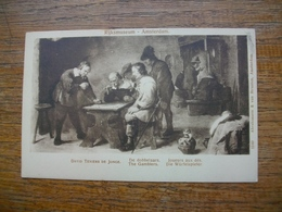 Amsterdam , Rijksmuseum , David Teniers De Jonce , De Dobbelaars , Joueurs Aux Dés - Amsterdam