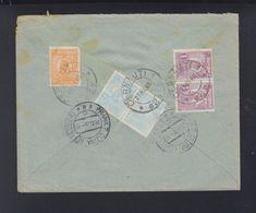 Romania Registered Cover 1926 Cernauti To Karlsbad - 1918-1948 Ferdinand, Charles II & Michael