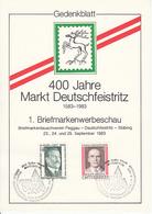 ÖSTERREICH-Gedenkblatt - Stamped Stationery