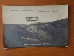 GRECE MONTAGNES DE VODENA SOUVENIR DE SALONIQUE VOIR SCANS - Greece
