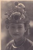CARTE PHOTO / HUONG KY PHOTO / HANOI / RICHE TONKINOISE EN COSTUME DE FETE - Vietnam