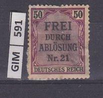 GERMANIA IMPERO, 1903SERVIZI, 50 Pf, Nuovo Con Ling - Nuovi