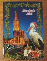 CPA 415 Carte Postale Strasbourg Cathédrale Marché De Noël - Strasbourg